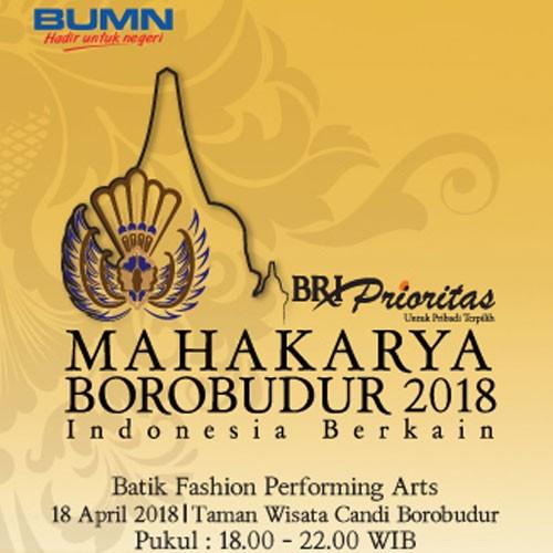 Afif Syakur Dalam Mahakarya Borobudur 2018